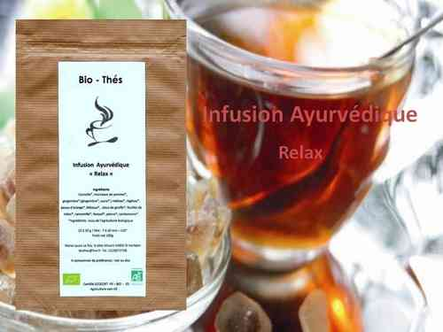 Infusion Ayurvédique  Relax  Bio 100g