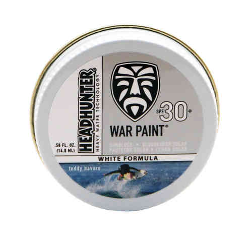 HEADHUNTER WAR PAINT SPF30 WHITE