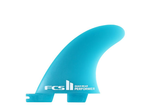 FCS II PERFORMER NEO GLASS MEDIUM QUAD REAR/SIDE FINS
