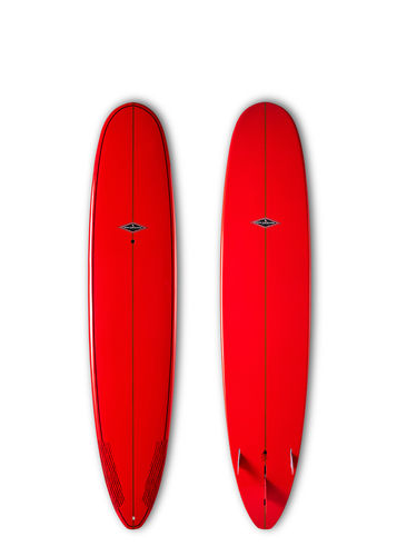 GONG SURF 9'0 MOODRIVE BAMBY RED GLOSSY FINISH
