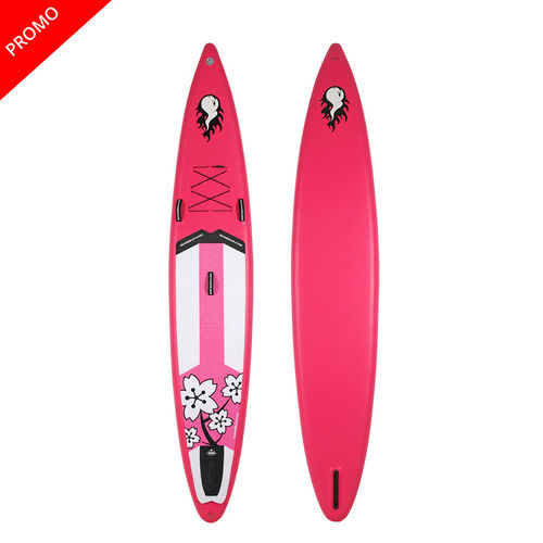 GONG SUP INFLATABLE 12'6 COUINE MARIE RACE PINK