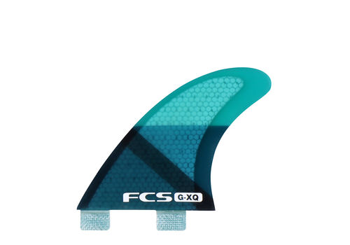 FCS FIN GX-Q SIDE or QUAD REAR BLUE SLICE