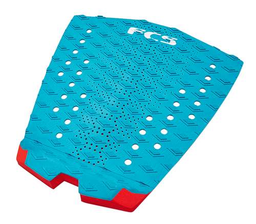 FCS TAIL PAD T-1 TEAL FIRE ENGINE RED