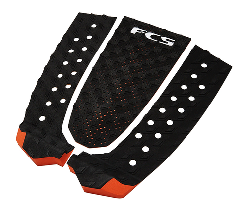FCS TAIL PAD T-3 BLACK BURNT ORANGE