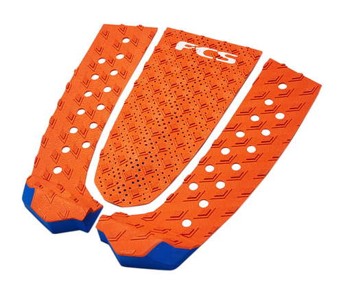 FCS TAIL PAD T-3 BURNT ORANGE BLUE GLASS