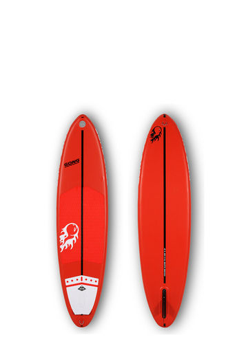 GONG SURF INFLATABLE 7'3 COUINE MARIE