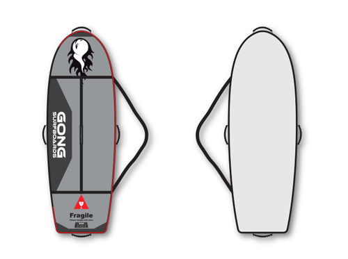 GONG SURF BAG LUXE 5'8X23""