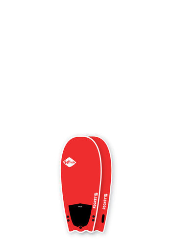 "SOFTECH SURF 56"" ROCKET FUEL GUAVA RED"