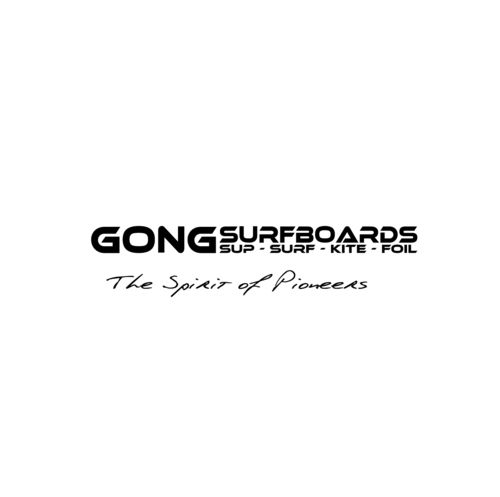 STICKERS GONG SURFBOARD