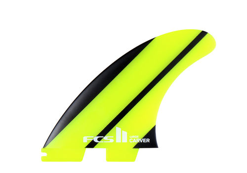 FCS II CARVER NEO GLASS LARGE TRI FIN SET
