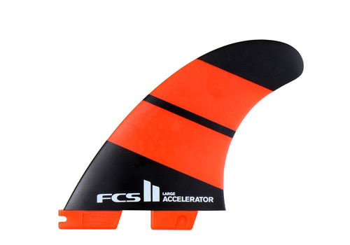 FCS II ACCELERATOR NEO GLASS LARGE TRI FIN SET