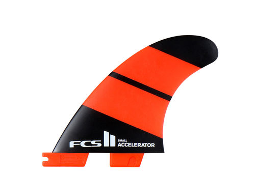 FCS II ACCELERATOR NEO GLASS SMALL TRI FIN SET