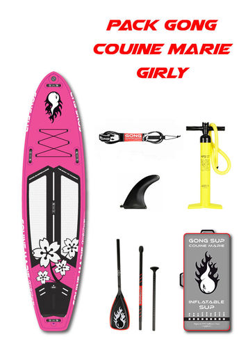 PACK GONG COUINE MARIE GIRLY