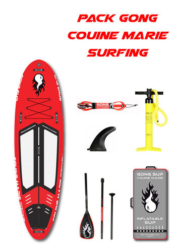 PACK GONG COUINE MARIE SURFING