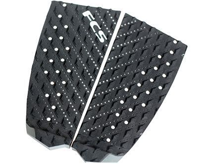 FCS TAIL PAD T-2 BLACK CHARCOAL