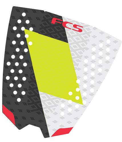 FCS TAIL PAD TOLEDO CHARCOAL LIME