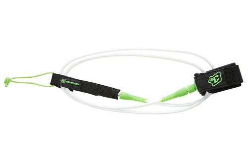CREATURES LEASH 6' PRO 7MM WHITE LIME