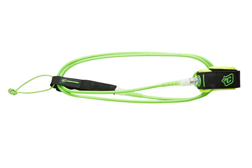 CREATURES LEASH 6' PRO 7MM LIME CLEAR