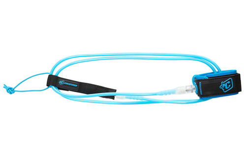 CREATURES LEASH 7' PRO 7MM CYAN CLEAR