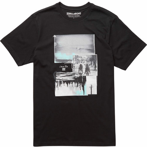 BILLABONG TEE SHIRT VACATION - NOIR