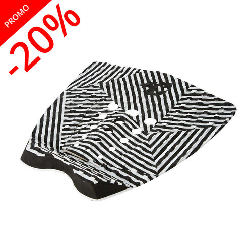 CREATURES TAIL PAD MITCH COLEBORN BLACK WHITE STRIPE
