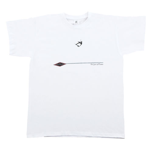 GONG T-SHIRT ONE FOOT BLANC