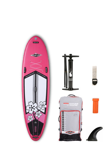 GONG SUP INFLATABLE 10' COUINE MARIE PINK 2018