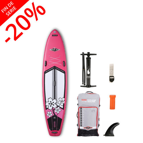 GONG SUP INFLATABLE 10'6 COUINE MARIE PINK 2018