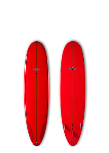 GONG SURF 8'0 ACIDOLLY BAMBY RED GLOSSY FINISH