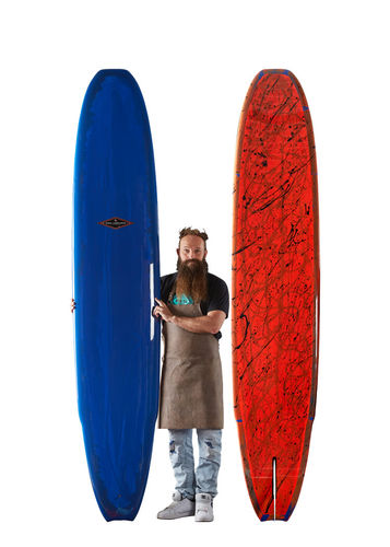 GONG SURF 9'8 INCREDIBLE SUNSET METEOR PU