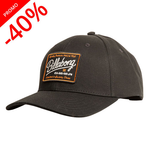 BILLABONG CASQUETTE WALLED SNAPBACK BLACK