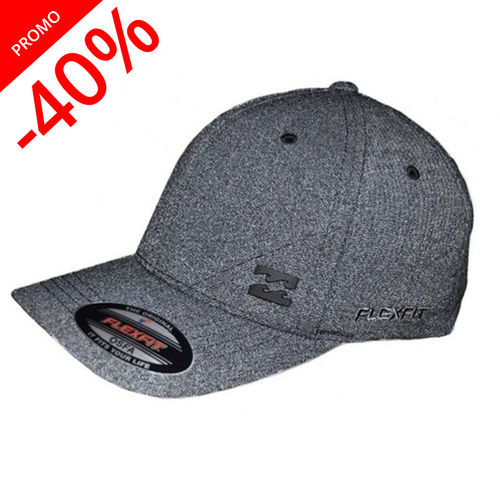 BILLABONG CASQUETTE STATION FLEXFIT SILVER