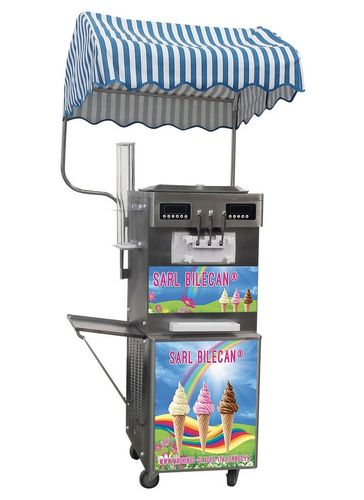 Machine à glace italienne 3,7 kw triple compresseur