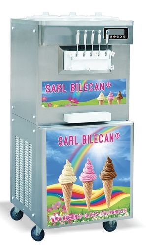 Machine à glace italienne 2,7 kw 3 Parfum + 2 Mix