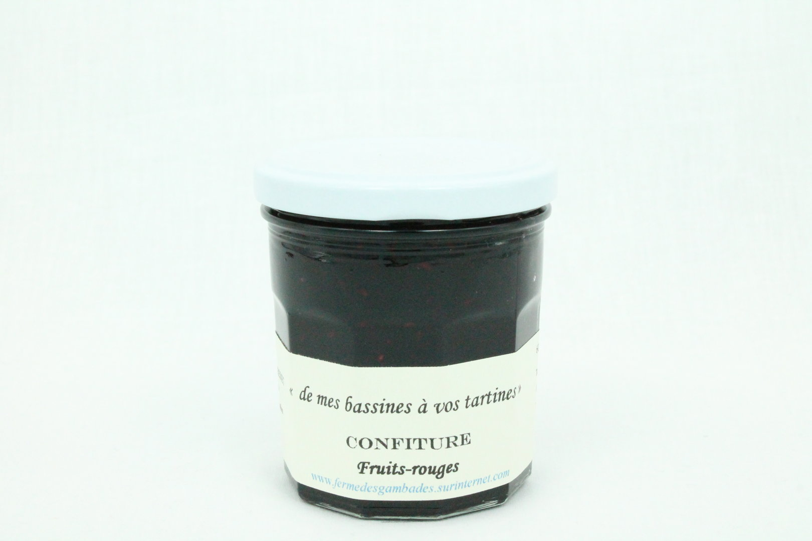 confiture de fruits rouges 250g