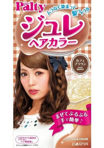 PALTY Jelly Hair Color- Cafe Brown