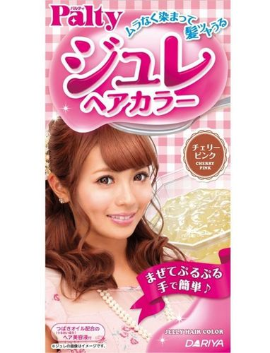 PALTY Jelly Hair Color- Cherry Pink